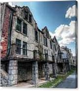 Hdr - National Park Seminary After Irene Canvas Print