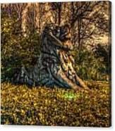 Hdr - Washington Dc National Zoo Canvas Print