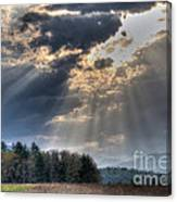 Hdr April 28 2014 Two Canvas Print