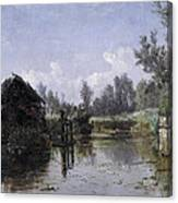 The Lake In Friesland Canvas Print