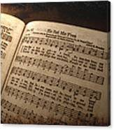 He Set Me Free - Hymnal Song Canvas Print