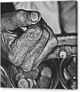 He Sold Coins And This Ring Canvas Print