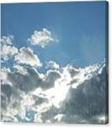 Head In The Clouds Canvas Print