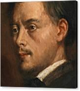 Head Of A Man Canvas Print
