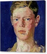 Head Of A Young Man Canvas Print