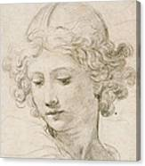 Head Of An Angel Canvas Print