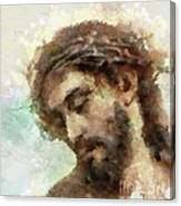 The Head Of Christ Canvas Print