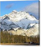Heading For Banff Canvas Print