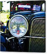 Headlight Of The Past 2 Canvas Print