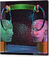 Headset 2 Canvas Print