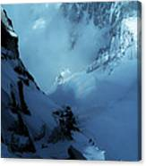 Headwall Mount Blanc Canvas Print