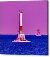 Headwater Lights 2 Canvas Print