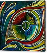 Healer Spirit Eye Canvas Print