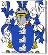 Healey Coat Of Arms Irish Canvas Print