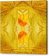 Healing In Golden Sunlight Canvas Print