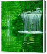 Healing In Green Waters Canvas Print
