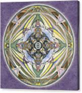 Healing Mandala Canvas Print