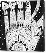 Healing Patterns I Canvas Print