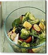 Healthy Mixed Salad Canvas Print