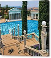 Hearst Castle Neptune Pool Canvas Print