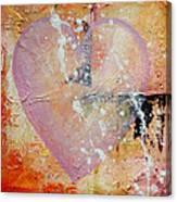 Heart # 79 - Original Available Canvas Print
