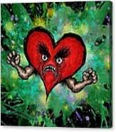 Heart Attack Canvas Print