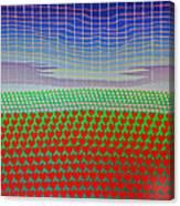 Heart Fields Again Canvas Print