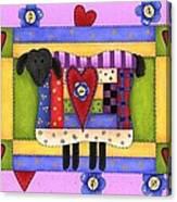 Heart For Ewe Canvas Print