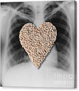 Heart Healthy Food Canvas Print