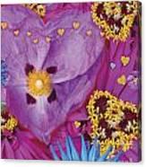 Heart Juxtaposition Canvas Print