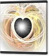 Heart N Soul Fractal Canvas Print