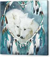 Heart Of A Wolf Canvas Print
