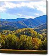 Heart Of Cataloochee Canvas Print