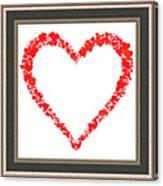 Heart Of Hearts II... Canvas Print