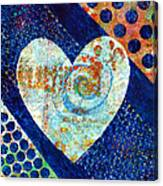 Heart Of Hearts Series - Elated Canvas Print