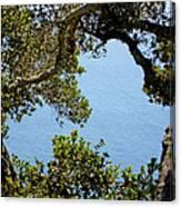 Heart Of Nepenthe - Big Sur Canvas Print
