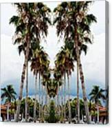 Heart Of Palms Canvas Print