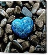 Heart Of Stone 2 Canvas Print
