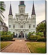 Heart Of The French Quarter Canvas Print