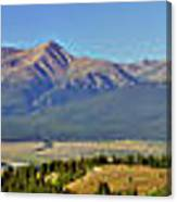 Heart Of The Sawatch Panoramic Canvas Print