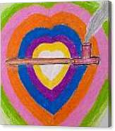 Heart Pipe Canvas Print