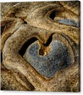 Heart Rock Canvas Print