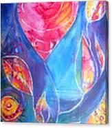 Heart Rose Canvas Print