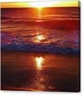 Heart Shaped Sunbeam 2 3/9 Canvas Print