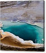 Heart Spring Yellowstone National Park Canvas Print