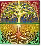 Heart Tree Canvas Print