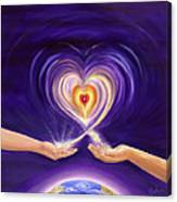 Heart Unity Canvas Print