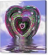 Heart Up Canvas Print