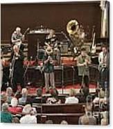 Heartbeat Dixieland Jazz Band Canvas Print