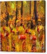 Heartbeat Of Autumn Canvas Print